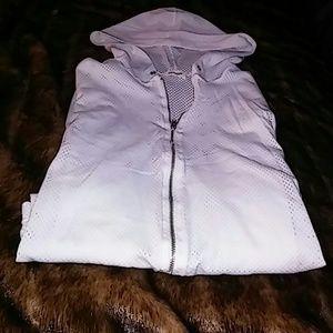 🌟Crop Mesh Full Front Zipper Hoodie🌟