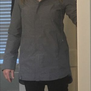 Gray Raincoat