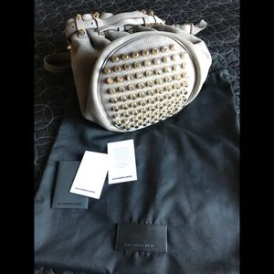 Alexander Wang Nubuck Diego bucket bag