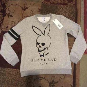 Designer Zoe karssen play dead sweatshirt