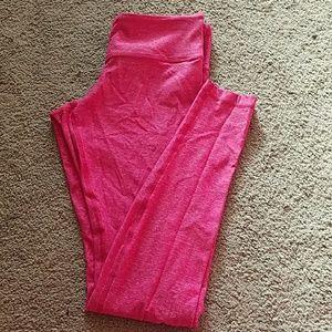 Pink lululemon leggings
