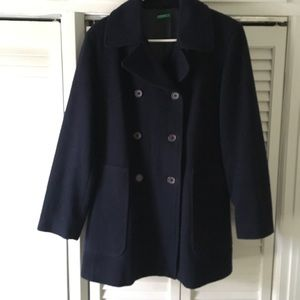 Of Benetton double breasted jacket