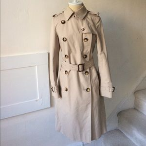 Burberry 100% Authentic Slim Fit Long Trench Coat