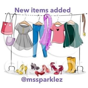 New items listed Daily/weekly