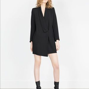 NWT Zara Blazer Tunic Dress