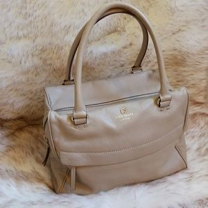 Kate Spade Grant Park Shelby Leather Satchel Bag