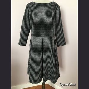 A-line career dress