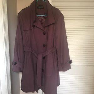 Mauve/Dusty Rose Jones New York Coat