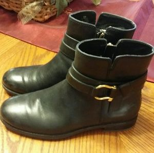 New Sperry women's black boots,size 6 NWB