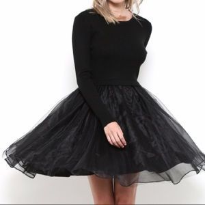 Dresses & Skirts - Tulle Sweater Dress