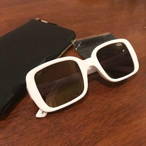 ca47a171d9 Quay Australia Accessories - Brand New quay Kylie 20 s White drop sunglasses  🕶