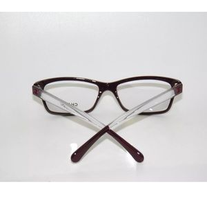 31c9b6dec94b CHANEL Accessories - Chanel 3274 Burgundy and Crystal Glasses Frame