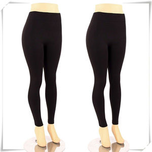 Fleece winter warm thermal leggings, long john