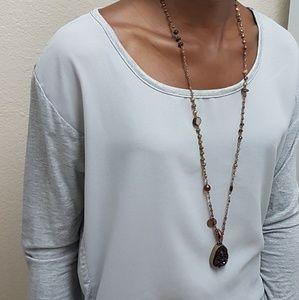 ANTHROPOLOGIE  Bishop&young Grey shirt long sleeve