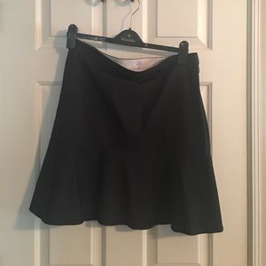Brooks Brothers Navy Blue Skirt