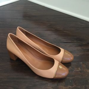 Authentic Tan Tory Burch heels