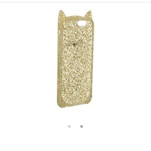 kate spade Accessories - iPhone 6/6S Kate Spade glitter cat case