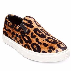 NWT Steve Madden Leopard Slip On Sneakers