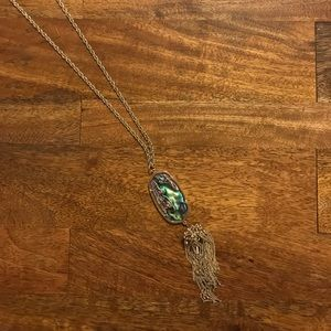 Kendra Scott Rayne Necklace in Abalone