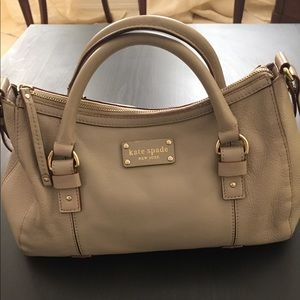 Kate Spade bag in taupe