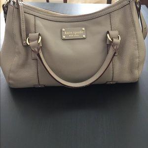 Kate Spade bag in taupe