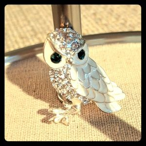 Jewelry - Snowy Owl Brooch