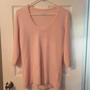 New York & Company Pink Sweater
