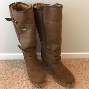 Pajar winter fur lined boots