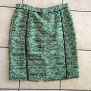 Antonio Melani Green pencil Skirt