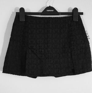 Urban Outfitters black high-waisted skort NWT