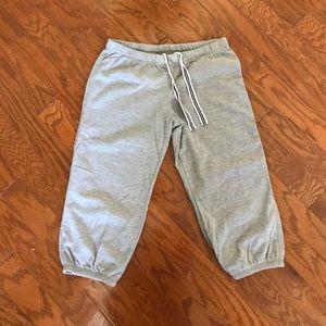 Xhilaration Capri Gray Sweatpants