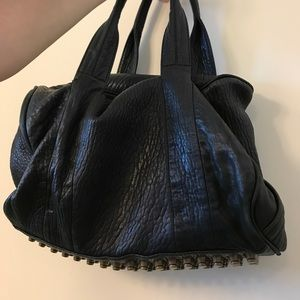 Alexander Wang - black leather bag