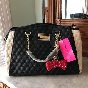 👛🎈💥 Betsey Johnson Bowler Bag NWT💥🎉☀️