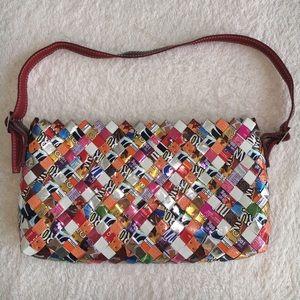 Recycled Wrapper shoulder bag
