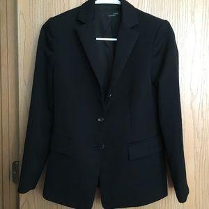 Jcrew black classic blazer top
