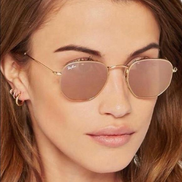 b6f98212d4 Ray-ban Hexagon Copper lenses sunglasses. M 59e76e736d64bcd53208c832