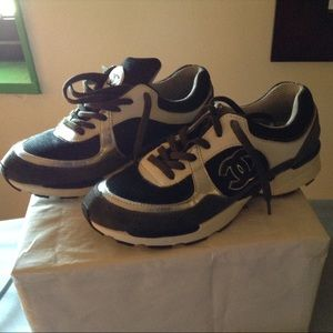 Chanel sneakers size 39.