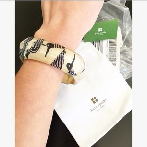 NEW Kate Spade Pop Art Sandpiper Lucite Bangle