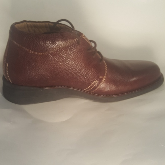 Johnston Murphy Sheepskin Ankle Boots
