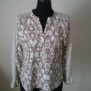 Banana Republic Patterned Shirt