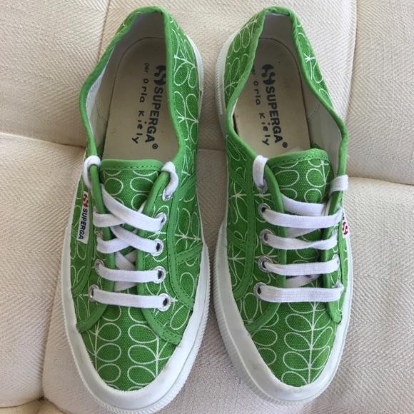 6fb733d565f6 Superga Orla Kiely Sneakers Size 6.5. M 59e771022fd0b7401108ba11