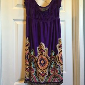 muse, size 6, pretty dress, excellent condition