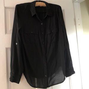 A.N.A black blouse