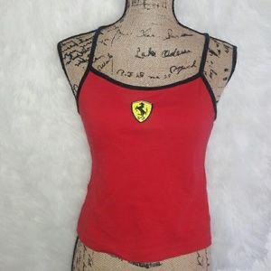 Ferrari crop top size 2