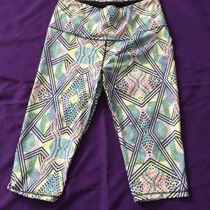 VSx workout pants (neon tribal)