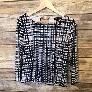 Nine West lined blouse