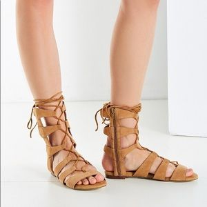 Jeffrey Campbell Brown Redondo Gladiator Sandal