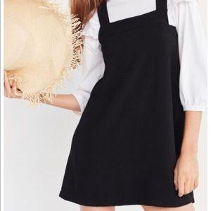 Urban Outfitters Square Cut Cross Back Mini Dress