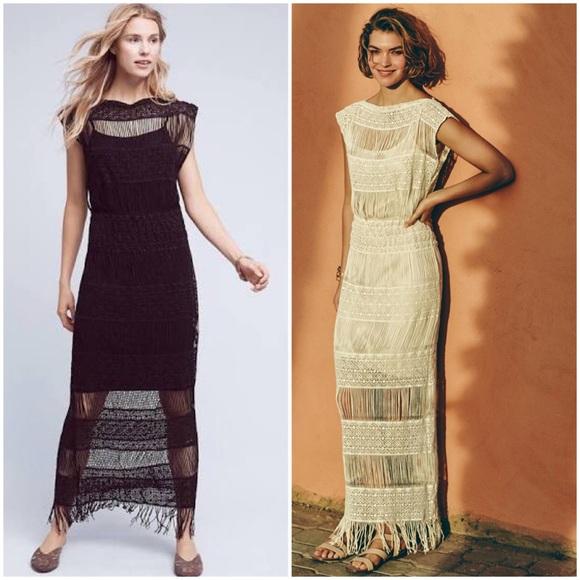 245c1c16f911 Anthropologie Dresses   Hp Callahan Crochet Maxi Dress   Poshmark