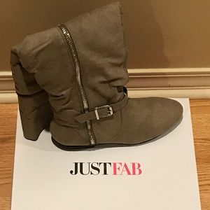 NWT Just Fab Over The Knee Boots